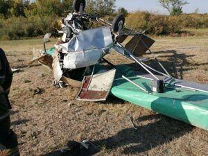 عکس/ سقوط هواپیمای شخصی در قزاقستان