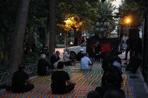 روضهخوانی مطیعی در کوچههای تهران +تصاویر