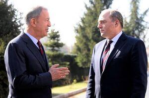 گفتوگوی وزرای دفاع ترکیه و انگلیس درباره لیبی