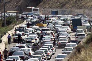جمعهای با ترافیک پرحجم در محورهای شمال