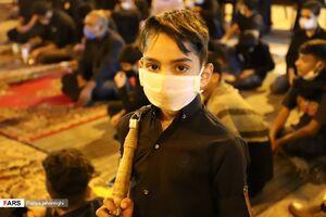 عکس/ عزاداری مردم زاهدان در شب تاسوعای حسینی