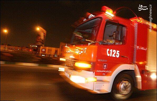 یک کشته بر اثر آتشسوزی در مرکز توانبخشی در غرب تهران