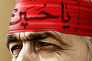 عکس/ سه چهره از سرداری که شب تاسوعا پرواز کرد
