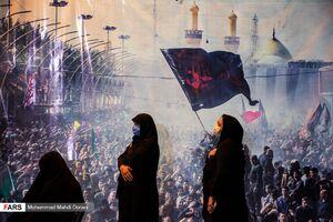 عکس/ مراسم شب تاسوعا در بقعه شیخ طرشتی