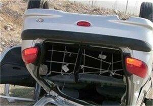 واژگونی پژو ۴۰۵ با ۶ کشته و ۶ مصدوم