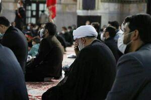 عکس/ تولیت آستان قدس رضوی در جمع عزاداران
