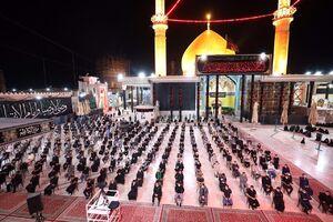 عکس/ عزاداری شب تاسوعای حسینی در سامرا