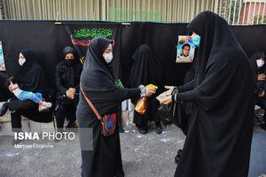 عکس/ عزاداری سیدالشهدا در خیابانهای تبریز