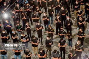 عکس/ مراسم عزاداری شب تاسوعا در اراک و ساوه