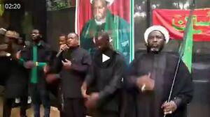 فیلم/ عزاداری سالار شهیدان توسط پیروان شیخ زکزاکی در نیجریه