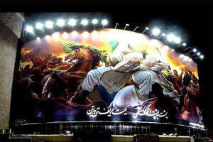 فیلم/ ماجرای دیوارنگاره جدید میدان ولیعصر(عج) به روایت رهبری