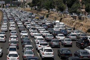 جاده هراز ترافیک نمایه