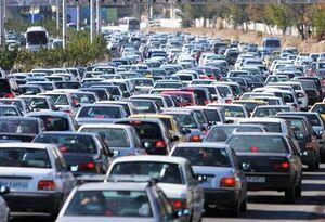 ترافیک سنگین در محور تهران-کرج