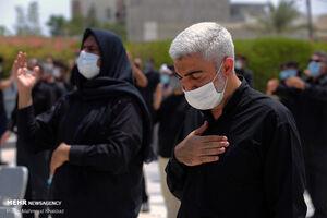 عکس/ عزاداری تاسوعای حسینی در جزیره کیش