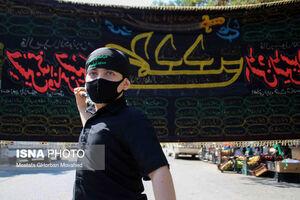 عکس/ عزاداری تاسوعای حسینی در شهرستان اهر