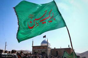 عکس/ عزاداری تاسوعای حسینی در ورزقان