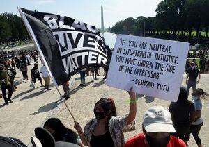 گزارش گاردین از ادعاهای پوچ ترامپ درباره اعتراضات آمریکا