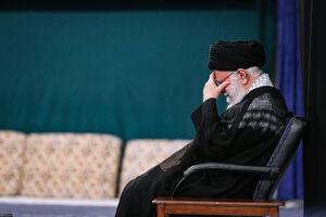عکس/ مراسم عزاداری شب عاشورای حسینی با حضور رهبرانقلاب