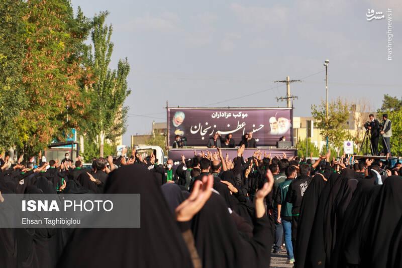 2898983 - عکس/ اقدام زیبای زنجانیها در روز تاسوعا