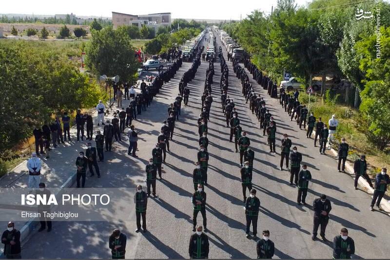 2898984 - عکس/ اقدام زیبای زنجانیها در روز تاسوعا