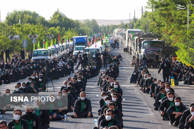 2898995 - عکس/ اقدام زیبای زنجانیها در روز تاسوعا