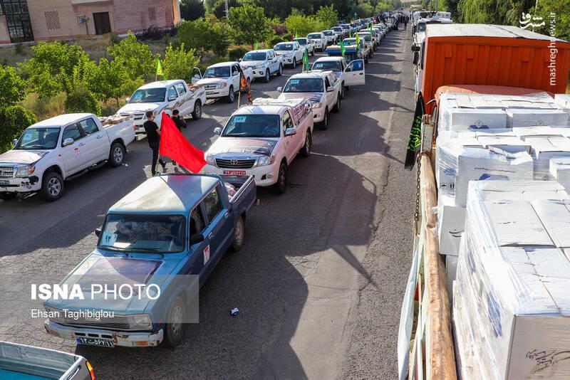 2898999 - عکس/ اقدام زیبای زنجانیها در روز تاسوعا