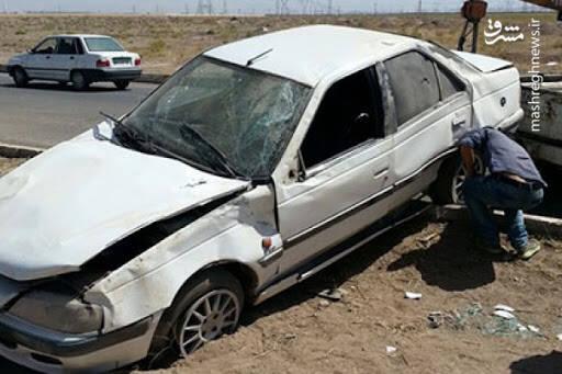 ۳ مصدوم و یک کشته بر اثر واژگونی پژو پارس در دماوند
