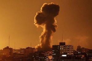 حملات توپخانهای اسراییل به مرکز و جنوب غزه