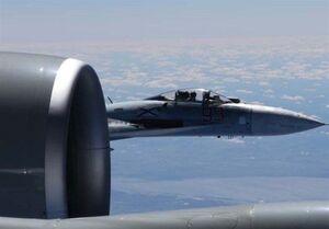 ۲ جنگنده روسی بمب افکن راهبردی آمریکا را رهگیری کردند