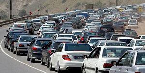 ترافیک پرحجم در ورودی شرقی تهران/ هراز ساعت ۱۶ یکطرفه میشود