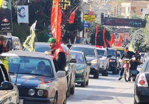 آغاز راهپیمایی عاشورایی در جنوب لبنان +عکس