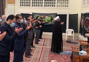 مراسم عزاداری عاشورای حسینی در سلطنت عمان +عکس