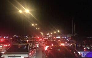 ترافیک پرحجم در محورهای شرق استان تهران