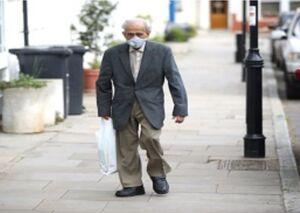 راه رفتن لاک پشتی در خانه سالمندان چین