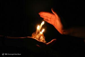 عکس/ آئین شام غریبان سالار شهیدان