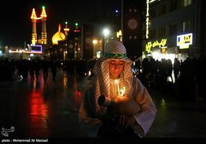 عکس/ شام غریبان حسینی در قم
