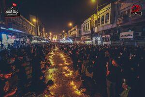 عکس/ حال و هوای شام غریبان در کاظمین