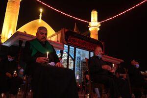 عکس/ مراسم شامغریبان شهادت امام حسین(ع) در سامرا