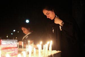 مراسم شامغریبان در تهران