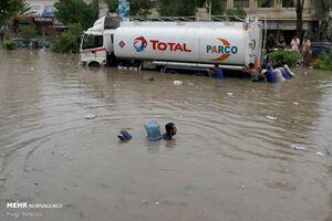 عکس/ باران و سیل در پاکستان