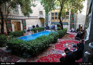عکس/ سوگواری سیدالشهدا(ع) در خانه تاریخی ملک