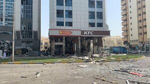 انفجار رستوران ابوظبی