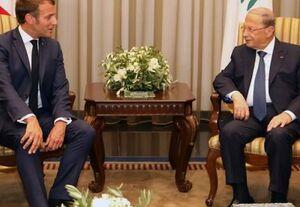 ماکرون: تغییری واقعی در لبنان ایجاد نشود طبقه حاکم را تحریم میکنم