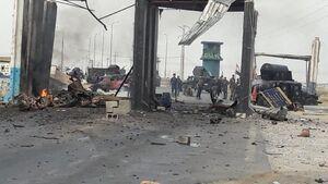 عکس/ انفجار در مسیر «تکریت-کرکوک»