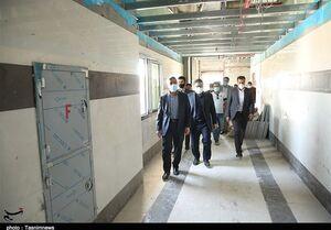 راهاندازی پیشرفتهترین بیمارستان هستهای ایران در استان بوشهر / شیب کاهشی بیماری کرونا در منطقه + فیلم