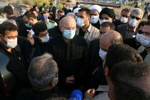 بازدید رئیس مجلس شورای اسلامی از شرکت فولاد شادگان