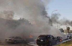 انفجار خودروی بمب گذاری شده در «الرمادی» عراق