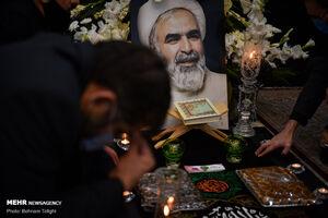 عکس/ مراسم بزرگداشت مرحوم حجتالاسلام حسینیان
