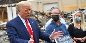 ترامپ معترضان به نژادپرستی را تروریست داخلی خواند