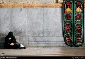 عکس/ عزاداری شهادت امام سجاد(ع) در حرم امام خمینی(ره)